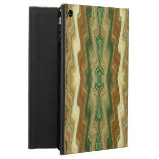 Abstrakt lodrät görat randig mönster iPad air skydd