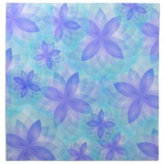 Abstrakt lotusblommablomma för servett