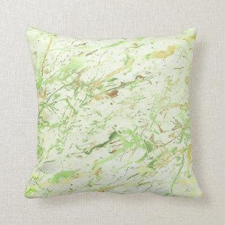 Abstrakt lyx för marmor för ny Mint för grönska Kudde