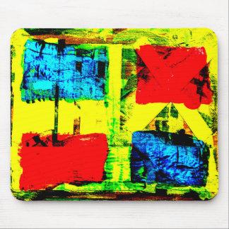 Abstrakt målning musmatta