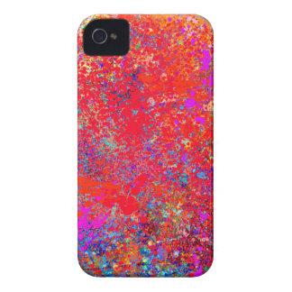 Abstrakt målning på kanfas iPhone 4 hud