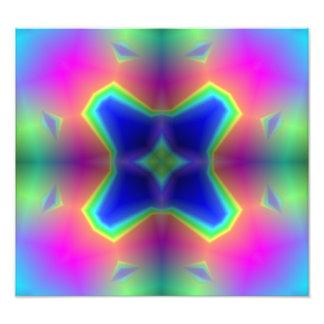 abstrakt mångfärgat mönster fotografi