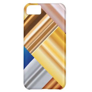 Abstrakt metalliska lutningar iPhone 5C fodral