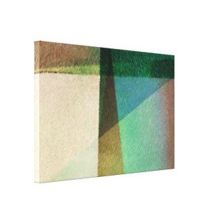 Abstrakt metar dekoren för kanfassjalväggen canvastryck