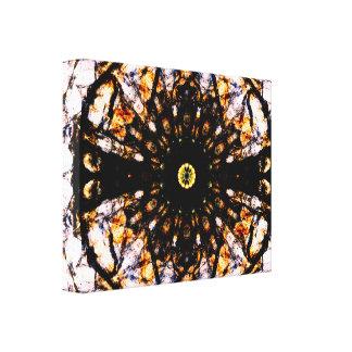 Abstrakt modern konst för Mandala | Canvastryck