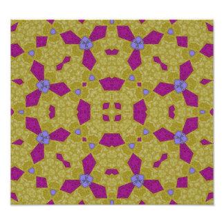 Abstrakt mönster 15 gul.jpg fotografiska tryck