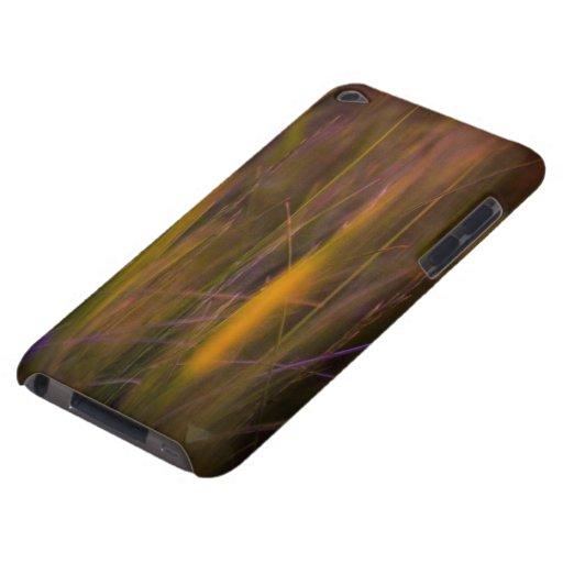 Abstrakt natur i orange iPod Case-Mate fodral