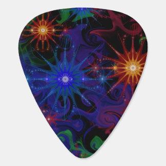 Abstrakt Nebula Plektrum