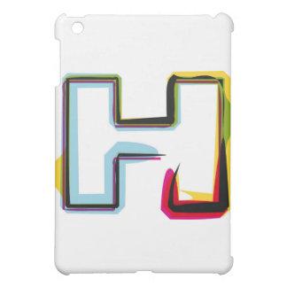 Abstrakt och färgrikt brevH iPad Mini Mobil Skal