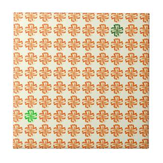 Abstrakt och mönster kakelplatta