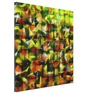 Abstrakt olja & akryl som målar 5 canvastryck