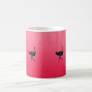 Abstrakt Ostrichmugg Kaffemugg