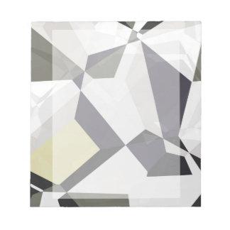 Abstrakt polygoner 213 anteckningsblock