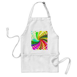 Abstrakt/Psychedelic spiral design: Förkläde