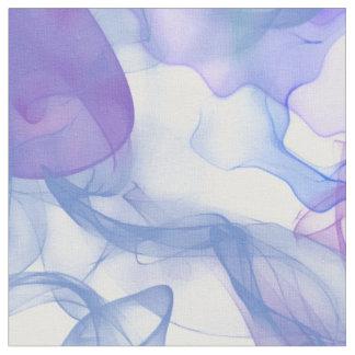 Abstrakt röker i purpurfärgade Pinks och deppighet Tyg