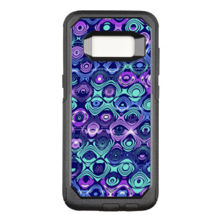 Abstrakt Samsung S8 Otterbox för lilor och för