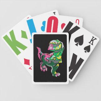 Abstrakt Silhouette för snaggning Spelkort