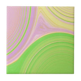 Abstrakt skapelse kakelplatta
