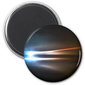 Abstrakt skins energistrålar magnet