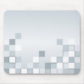 Abstrakt skuggar av grå färg kvadrerar musmattor