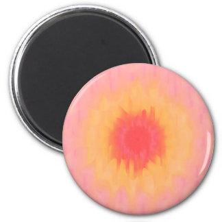 Abstrakt solros magnet