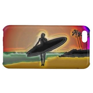 Abstrakt surfareDude iPhone 5C Skydd