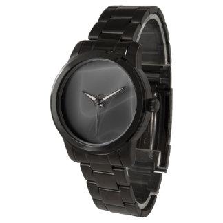 Abstrakt svartvitt armbandsur
