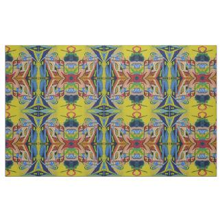 Abstrakt symmetri tyg