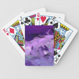 Abstrakt tidvattens- vinkar spelkort