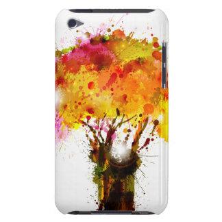 Abstrakt träd för höst som bildar vid plumpar barely there iPod covers