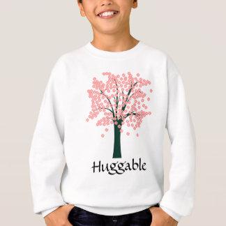 Abstrakt träd för rosor tröjor