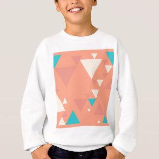 Abstrakt trianglar t-shirts
