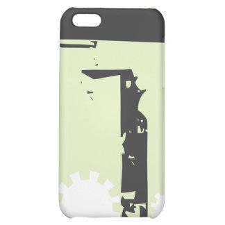 Abstrakt utrustar bakgrund #3 iPhone 5C fodral