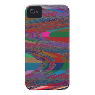 Abstrakt vinkar TÄVLINGEN JAGAR ROLIGT för vågspel Case-Mate iPhone 4 Skydd