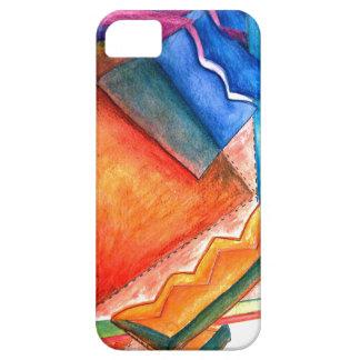 Abstrakt vinterroligtiphone case iPhone 5 skal