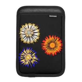Abstraktblommor Sleeve För iPad Mini