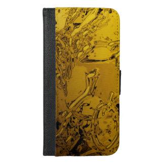 abstraktion: sprej iPhone 6/6s plus plånboksfodral