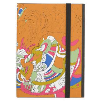 """Abstraktkonst """"för rullande himmel"""" iPad air fodral"""