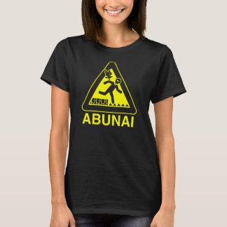 Abunai skjorta, svart tröja