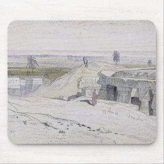 Abydus 1pm, 12:e Januari 1867 (bläck och watercolo Musmatta