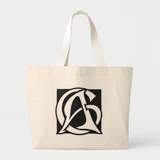 Ac-Monogram Tygkassar