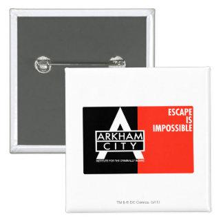 Ac-propaganda - flykten är omöjlig standard kanpp fyrkantig 5.1 cm