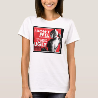 Ac-propaganda - obekväm Catwoman T Shirts