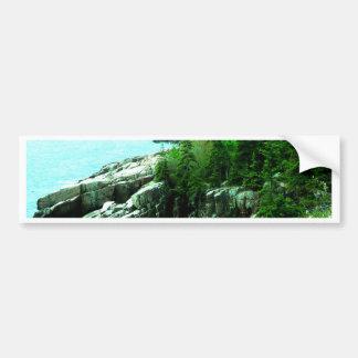 Acadia parkerar Shorelinefred och lugn Bildekal