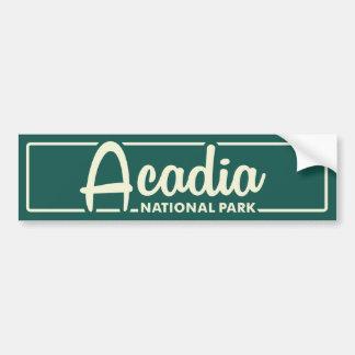 Acadianationalpark Bildekal