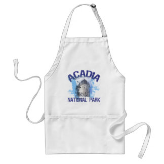 Acadianationalpark Förkläde