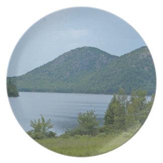 Acadianationalpark Maine Fest Tallrikar