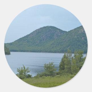 Acadianationalpark Maine Runt Klistermärke