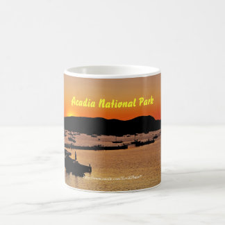 Acadiasolnedgångmugg Kaffemugg