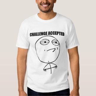 Accepterad utmaning - T-tröja Tshirts